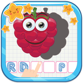 Fancy Fruit Vocabulary Game icon