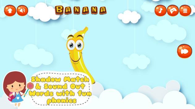 Fancy Fruit Vocabulary Game screenshot 12