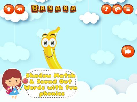 Fancy Fruit Vocabulary Game screenshot 7