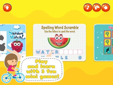 Fancy Fruit Vocabulary Game screenshot 5