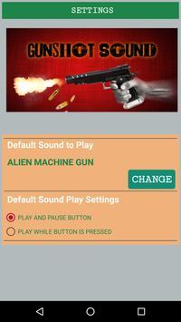 Gunshot Sounds screenshot 1