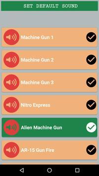 Gunshot Sounds apk screenshot