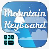 Mountain Keyboard Theme icon
