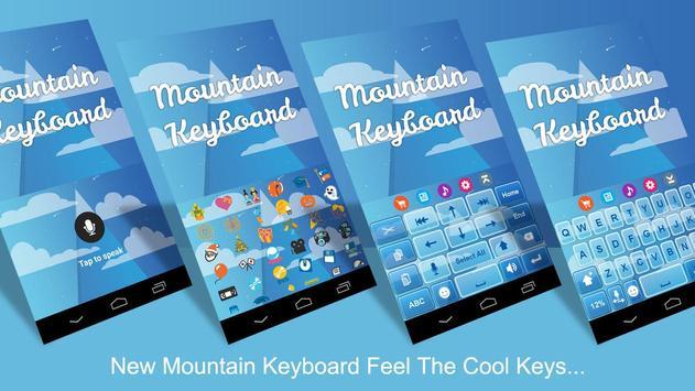 Mountain Keyboard Theme screenshot 1