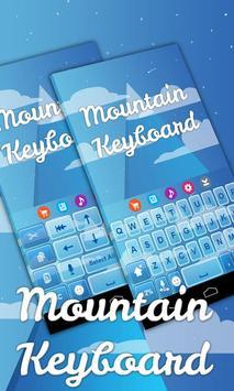 Mountain Keyboard Theme screenshot 2