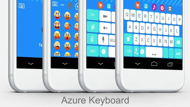 Azure Keyboard Theme poster