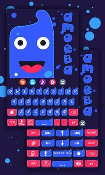 Amoeba Keyboard Theme poster
