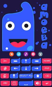 Amoeba Keyboard Theme screenshot 1