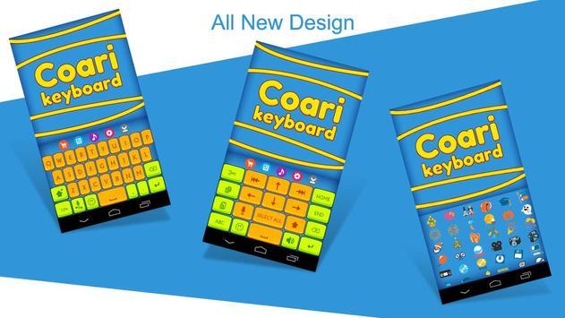 Coari Fancy Keyboard Theme poster