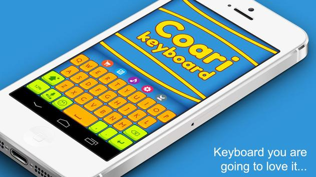 Coari Fancy Keyboard Theme apk screenshot