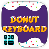 Donuts Keyboard Theme icon