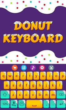 Donuts Keyboard Theme apk screenshot