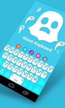 Ghost Keyboard Theme apk screenshot