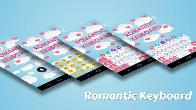 Romantic Keyboard Theme apk screenshot