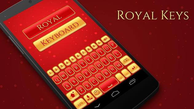 Royal Keyboard Theme poster