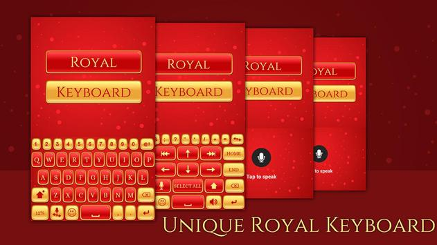Royal Keyboard Theme screenshot 1