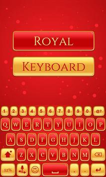 Royal Keyboard Theme screenshot 3