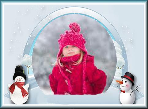 Frozen Snow Frames apk screenshot