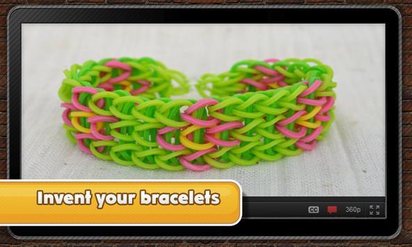 Fantastic rubber bracelets poster