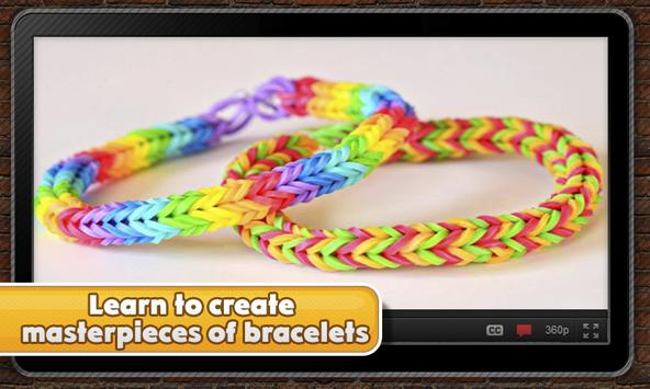 Fancy rubber bracelets screenshot 4