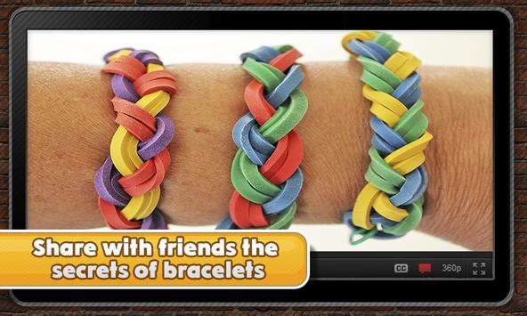 Fancy rubber bracelets screenshot 8