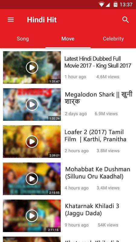 hindi bollywood video songs hd free download