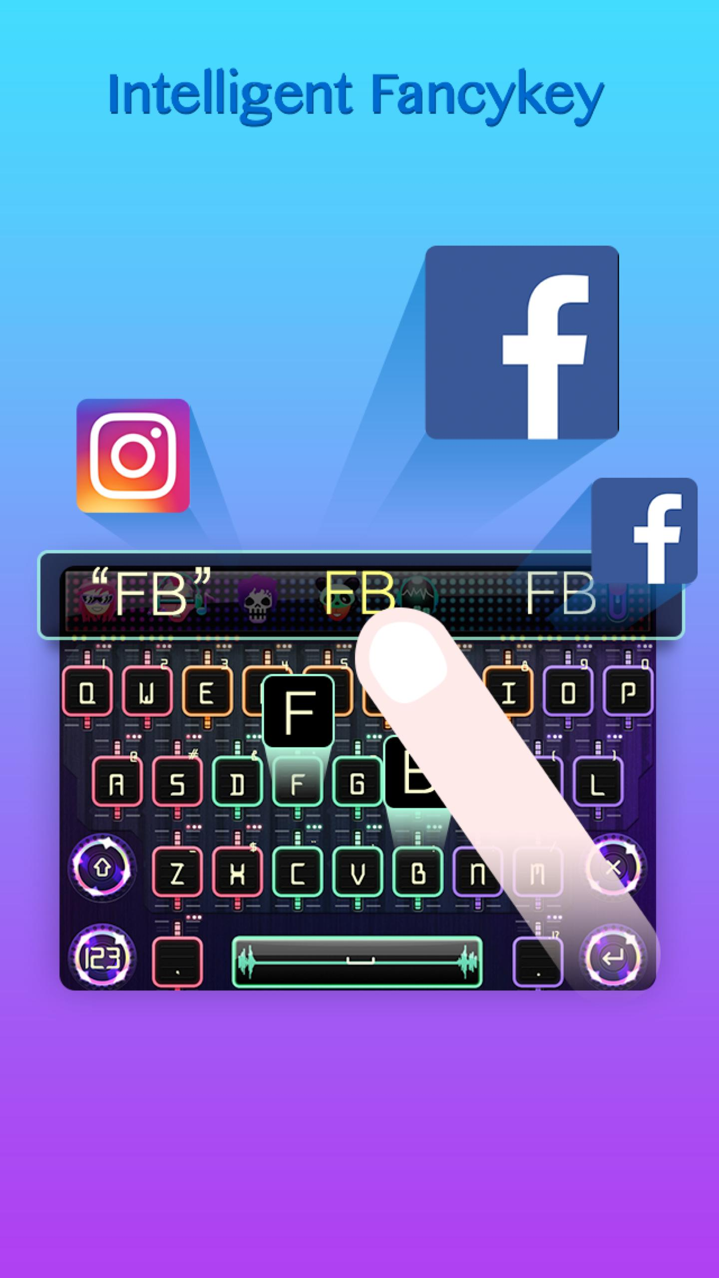 FancyKey Swipe Keyboard - Fast for Android - APK Download