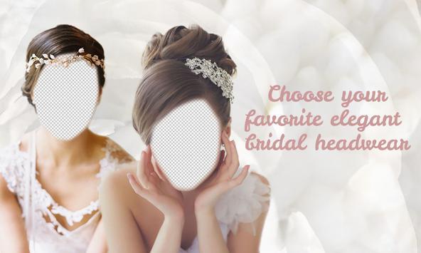 Bridal Hair Headband Montage poster