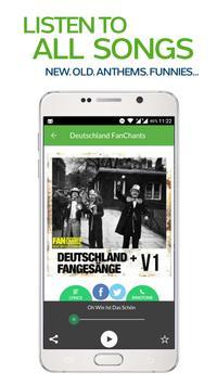 FanChants: Deutschland Fans screenshot 1