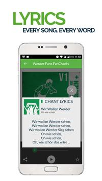 FanChants: Werder Fans Songs screenshot 2