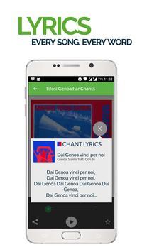 FanChants: Tifosi Genoa Fans screenshot 2