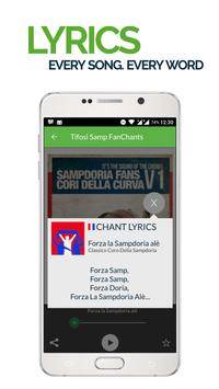 FanChants: Tifosi Samp Fans screenshot 2
