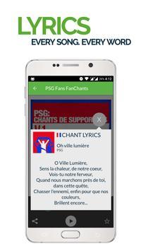 FanChants: PSG Fans Songs screenshot 2