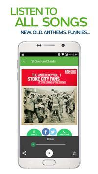 FanChants: Stoke Fans Songs screenshot 1