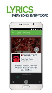 FanChants: Colon Fans Songs & Chants screenshot 2
