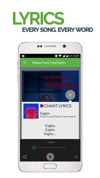 FanChants: Palace Fans Songs apk screenshot