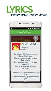 FanChants: Galatasaray Fans screenshot 2