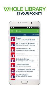 FanChants: Chivas Fans Songs poster