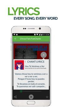 FanChants: Chivas Fans Songs apk screenshot