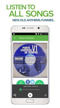 FanChants: Porto Fãs Fans screenshot 1
