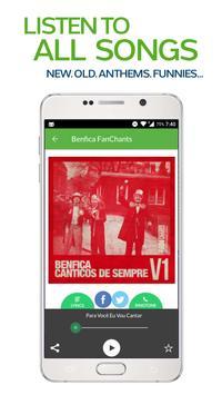 FanChants: Benfica Fãs Fans screenshot 1