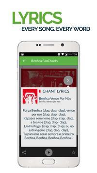 FanChants: Benfica Fãs Fans screenshot 2