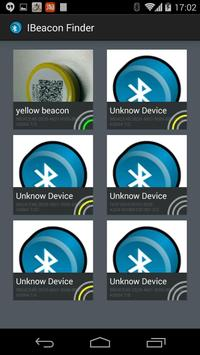 iBeacon Finder poster