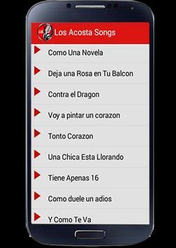Los Acosta Mix 2016 captura de pantalla 2