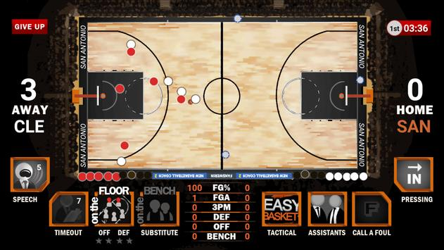 New Basketball Coach 2 apk screenshot