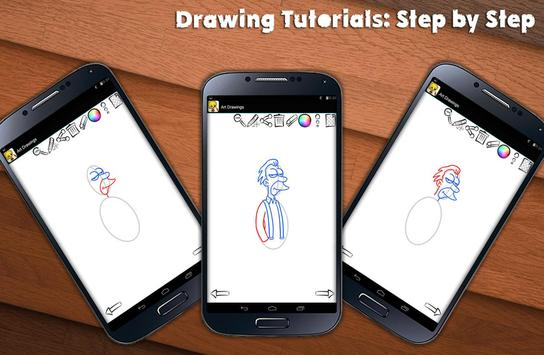 Learn To Draw Springfield screenshot 1