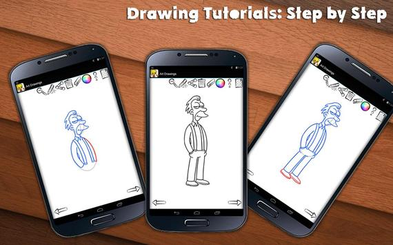 Learn To Draw Springfield screenshot 2