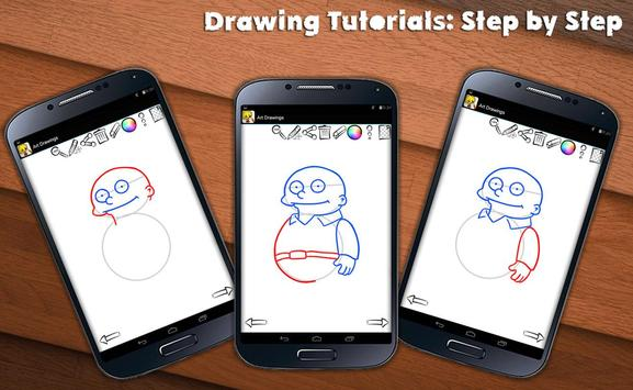 Learn To Draw Springfield screenshot 7