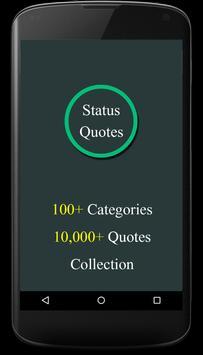Status Quotes(10000+ Quotes) poster