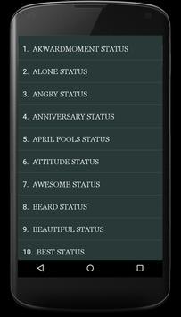 Status Quotes(10000+ Quotes) screenshot 1